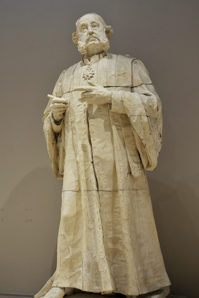Alfred Boucher,  Monument to the Doctor Louis Léopold Ollier, before 1904