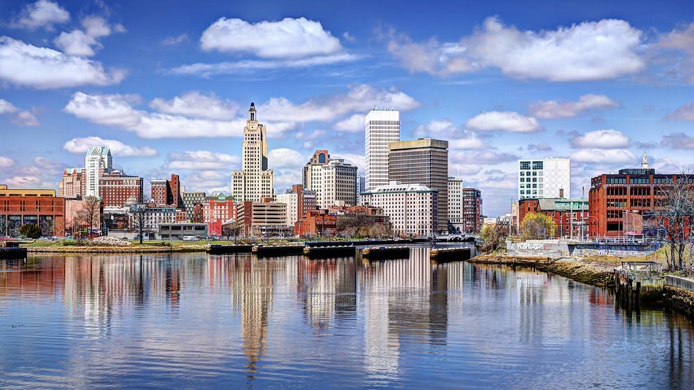 skyline of Providence Rhode Island
