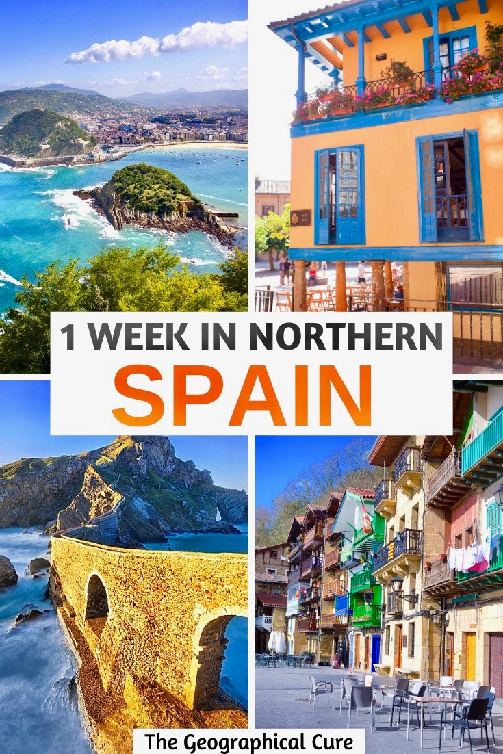 1 week itinerary for northern Spain