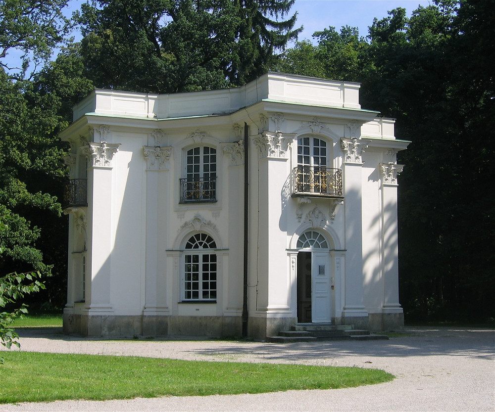 the Pagodenburg, the Royal Tea House, in Nymphenburg Palace Park