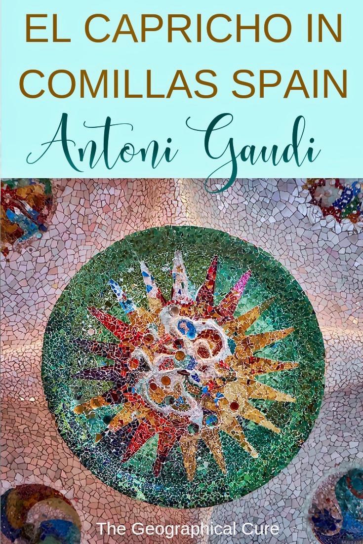 Antoni Gaudi's El Capricho in Comillas Spain