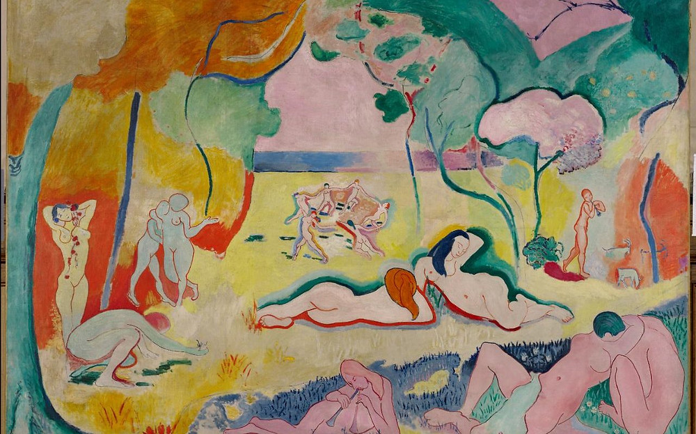 Henri Matisse, The Joy of Life, 1906 -- possibly the Barnes Foundation's most valuable painting