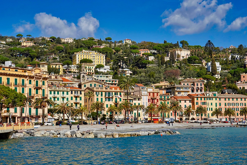 the seaside town of Santa Margherita