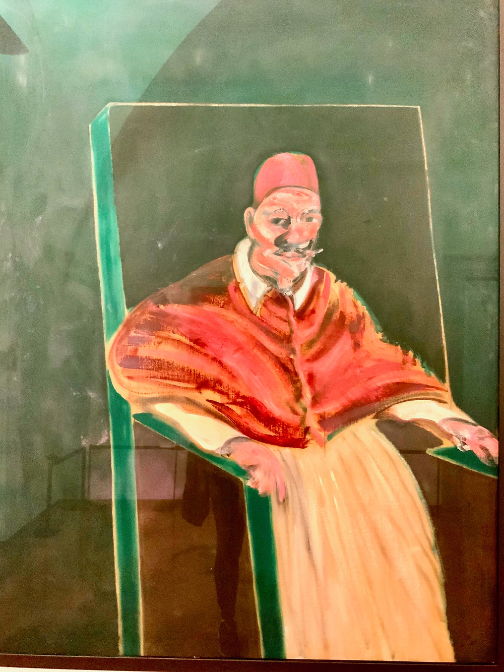 Francis Bacon, Study for Velazquez Pope, 1961