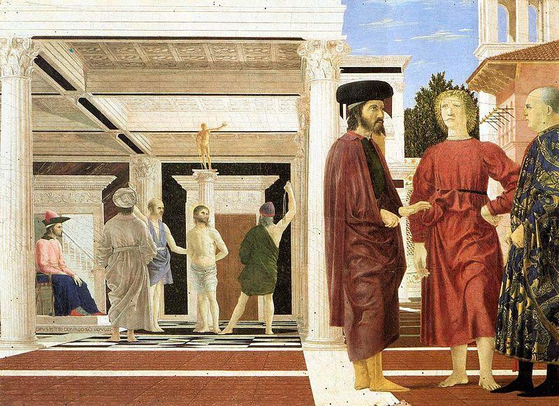 Piero della Francesca, Flagellation of Christ, c. 1455-65
