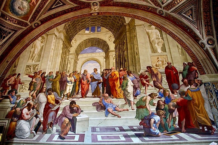 Raphael, School of Athens, 1509-11