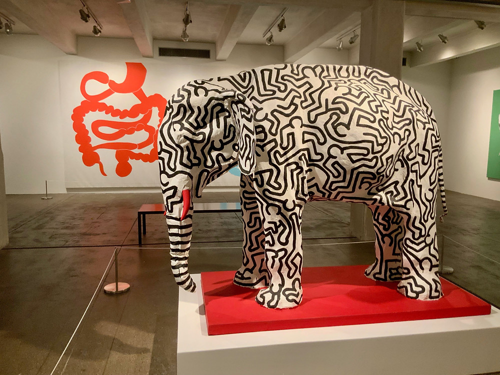 Keith Haring, Elephant, 1985