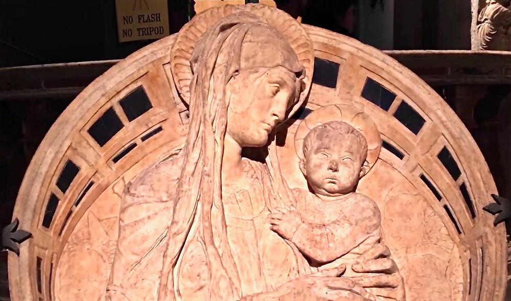 Donatello, Madonna del Perdono, 1458