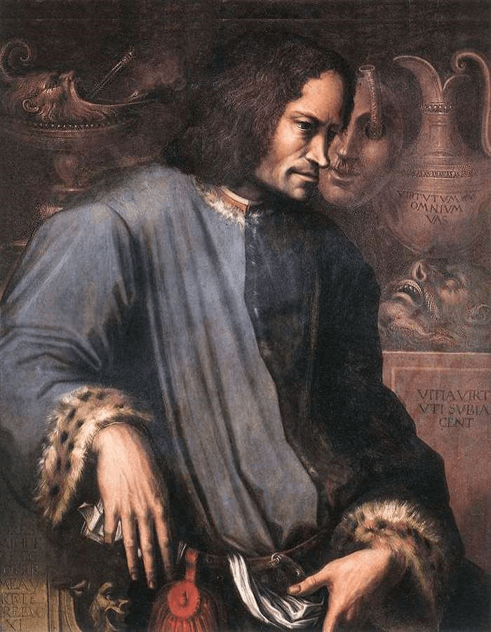 Vasari, Portrait of Lorenzo de' Medici,1533-34