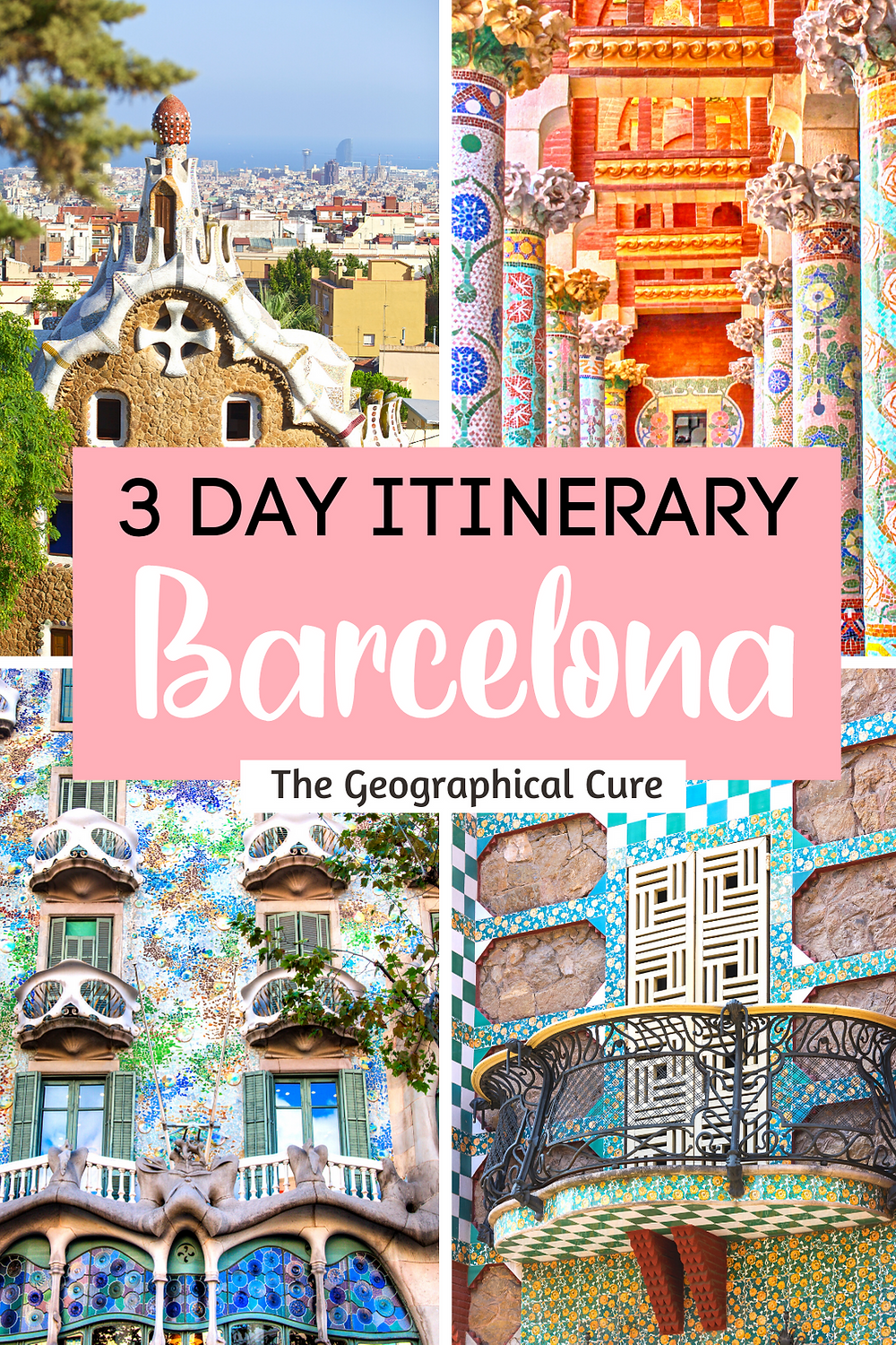 How To Spend 3 Perfect Days in Barcelona