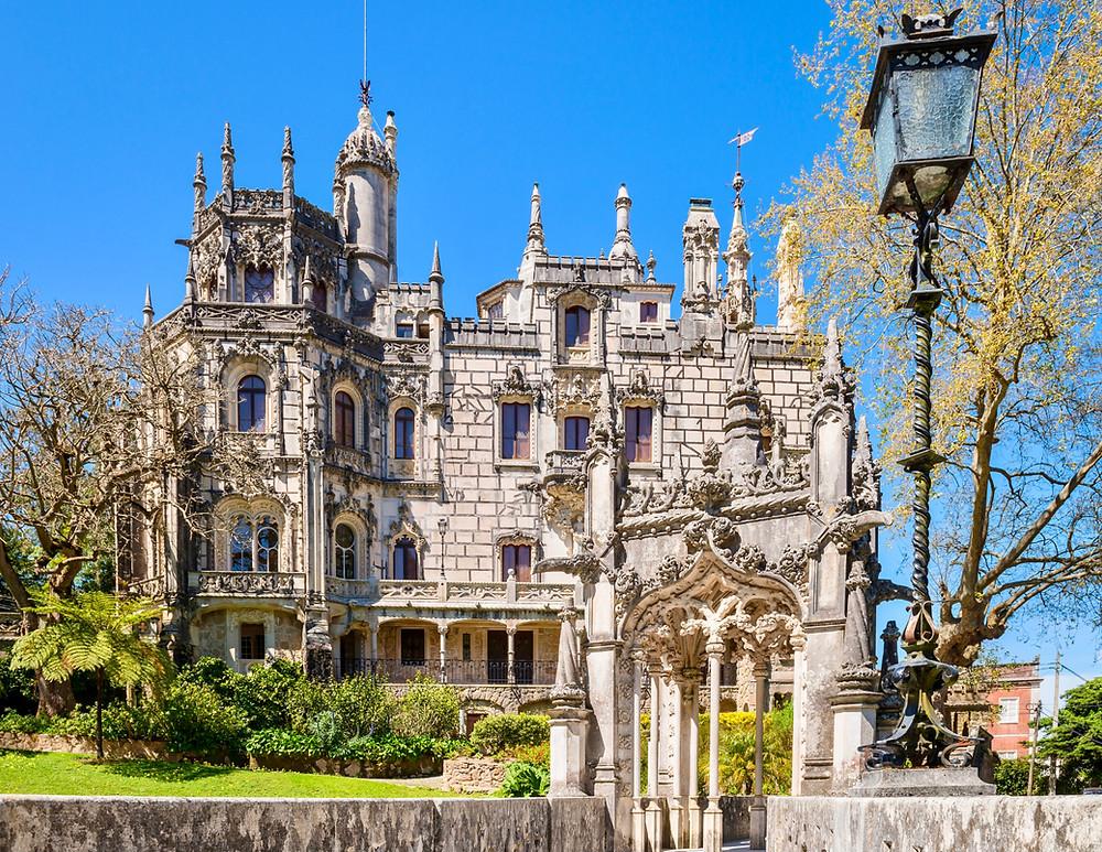 the facade of Quinta da Regaleira