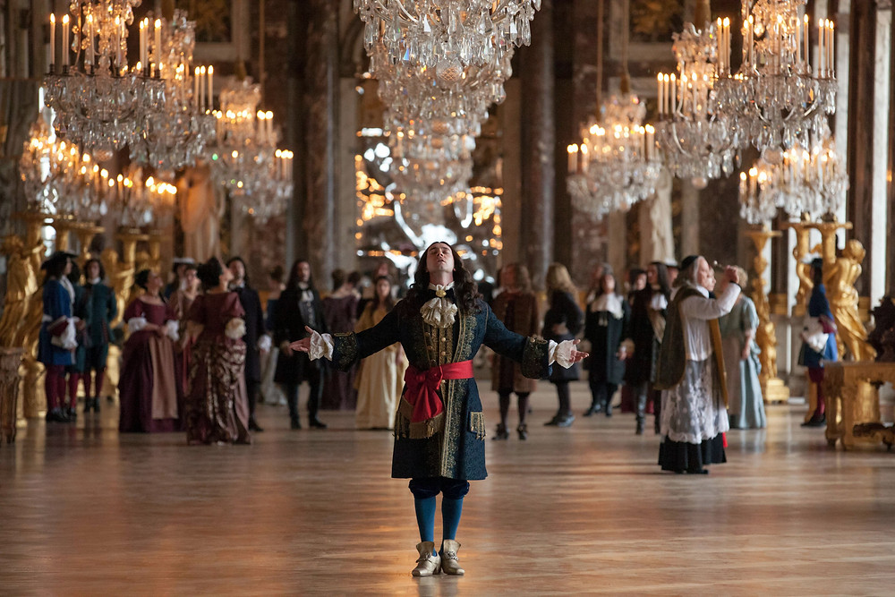 Louis XIV unveils the Hall of Mirrors to his courtiers