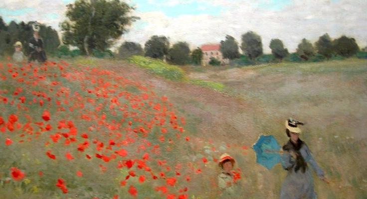 Monet, Poppy Field (Argenteuil), 1873