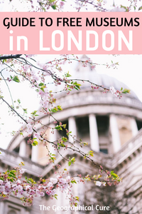 guide to free museums in London