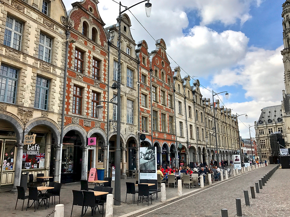 Flemish houses in Arras France