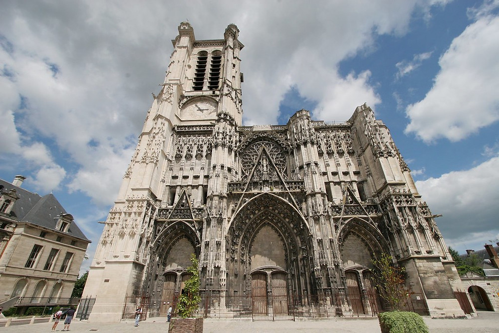 Troyes Cathedral in the Champagne region of France