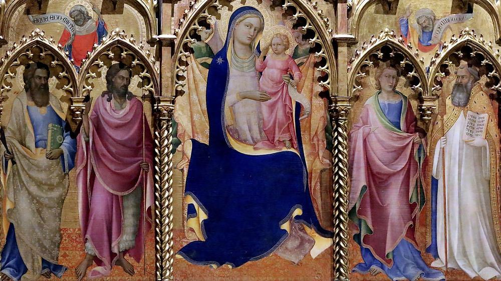 Lorenzo Monaco, detail Monte Oliveto Altarpiece, 1410