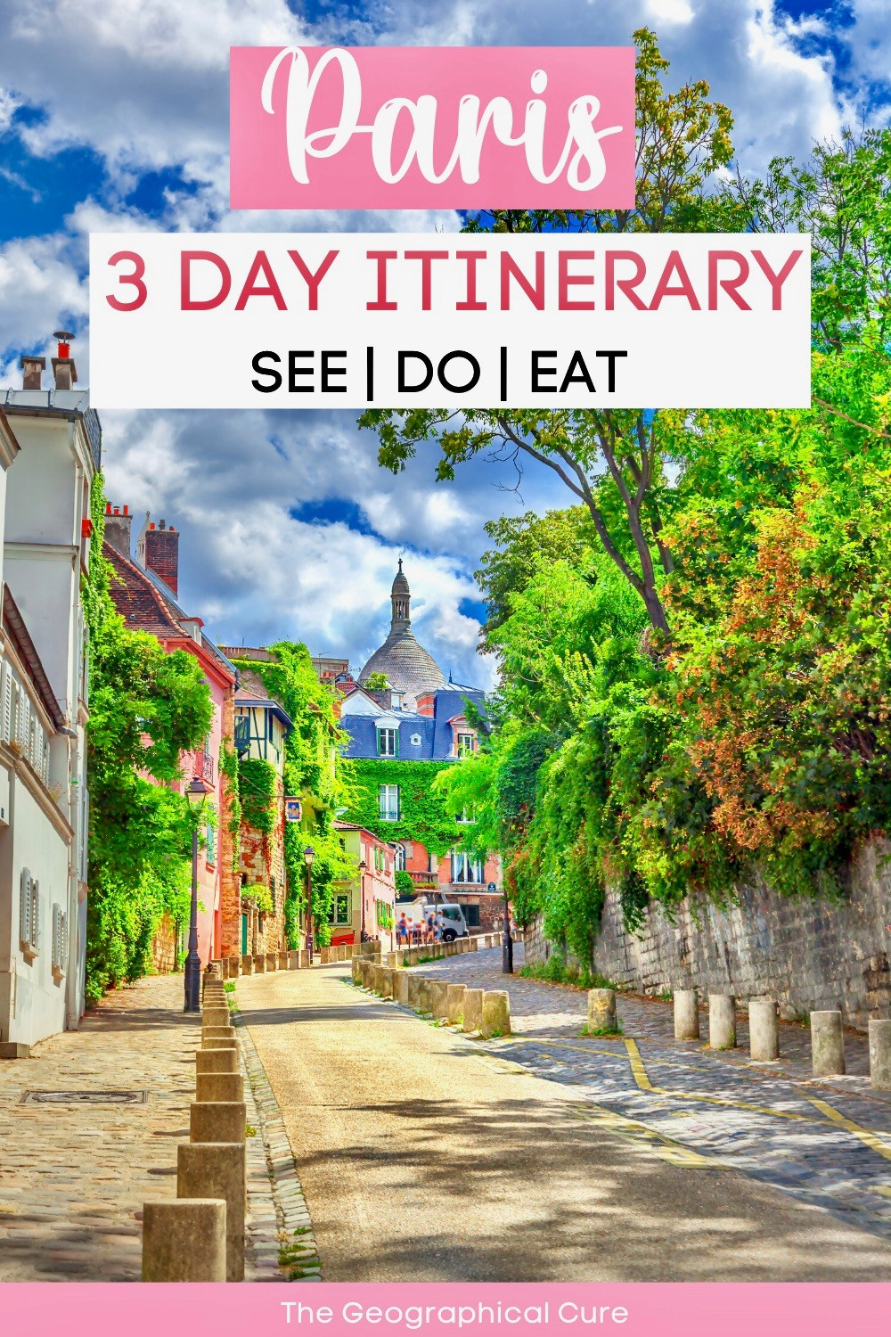 Paris in 3 days itinerary