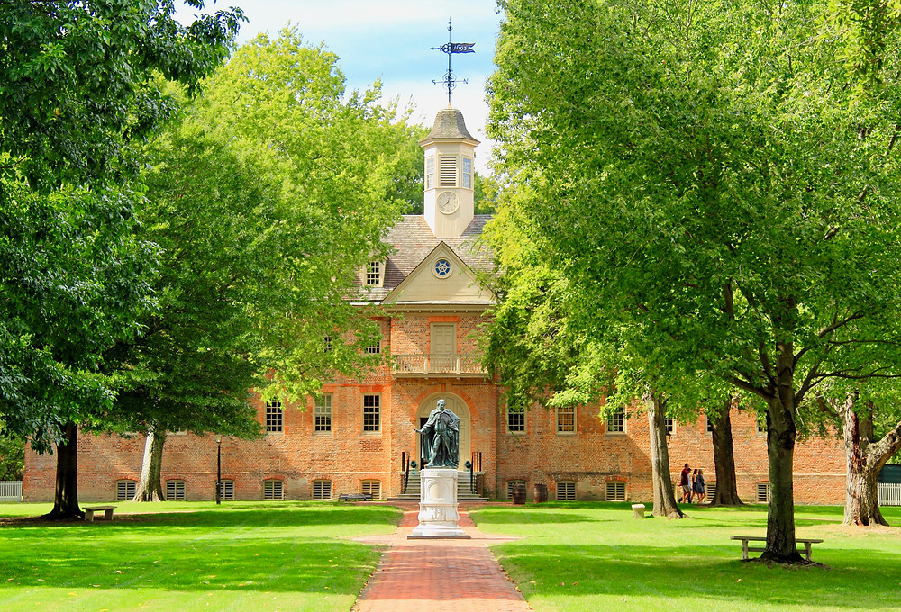 the College of William and Mary in Williamsburg
