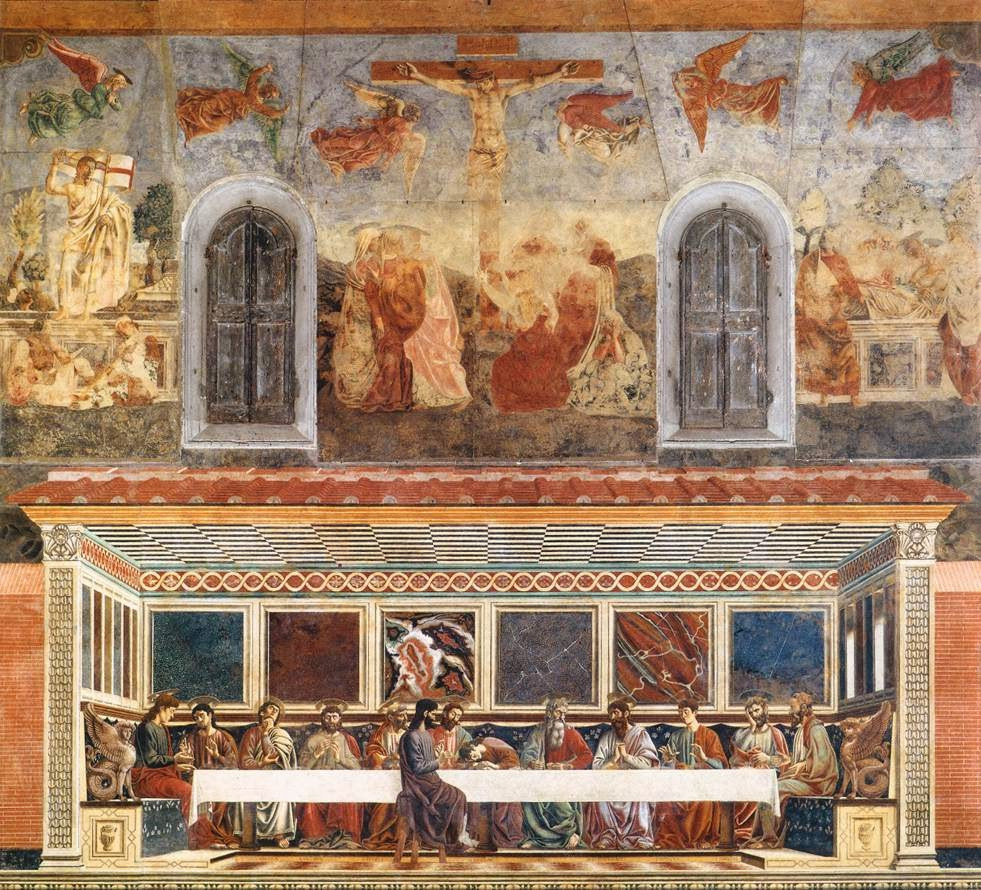 The Last Supper with the accompanying images above