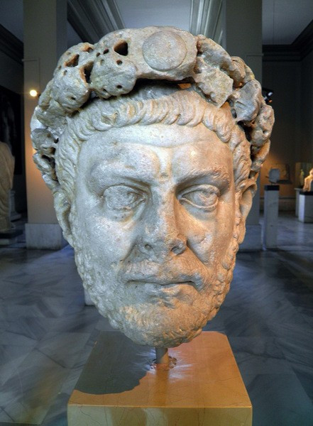 Diocletian with his diadem