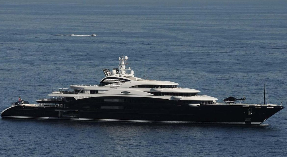 Prince Mohammed's super yacht, which may house Salvator Mundi