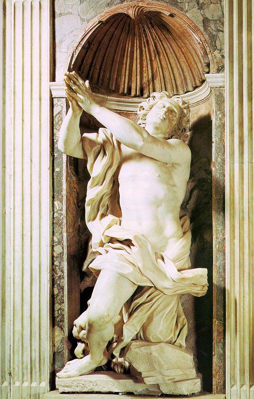Bernini, Daniel in the Lion's Den, 1655-56