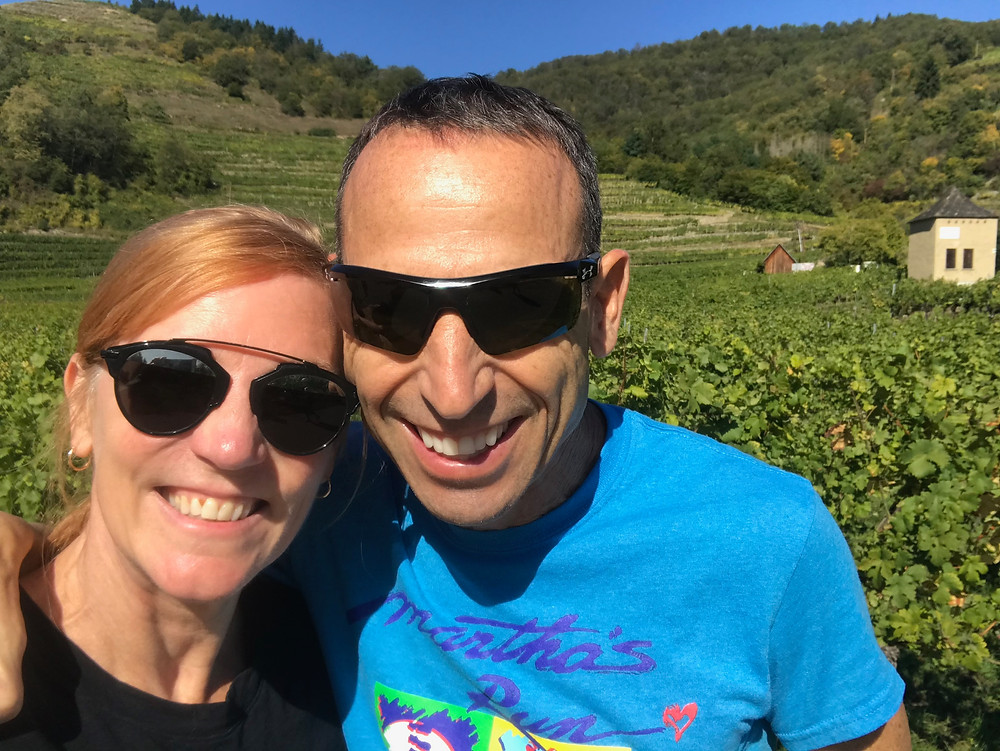 enjoying a bike ride through the Wachau Valley, a must do activity in Austria