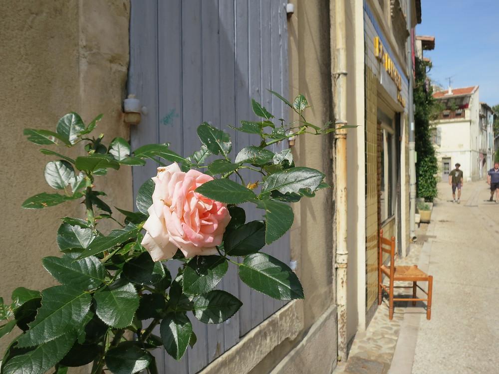 the neighborhood of La Roquette in Arles France