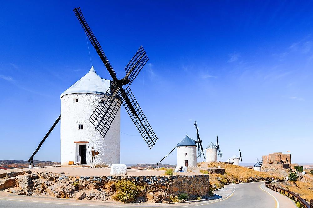 windmills near Toledo