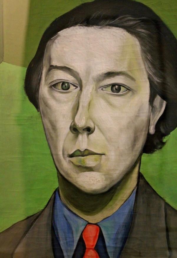 Portrait d'André Breton by Victor Brauner, 1934 |