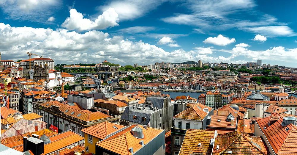 view from the Miradouro Da Vitória