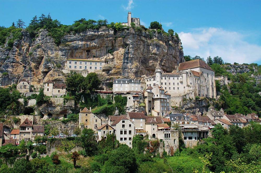 Rocamodour, a romantic village in the Dordogne region