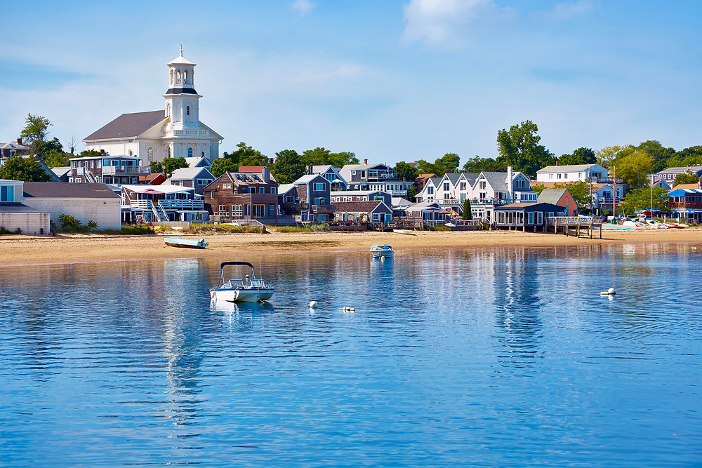 Provincetown Beach in Cape Cod