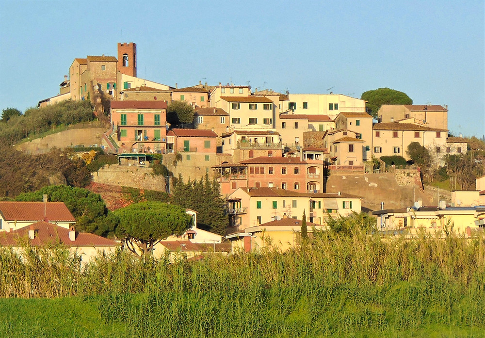 the town of Montelupo in Tuscany