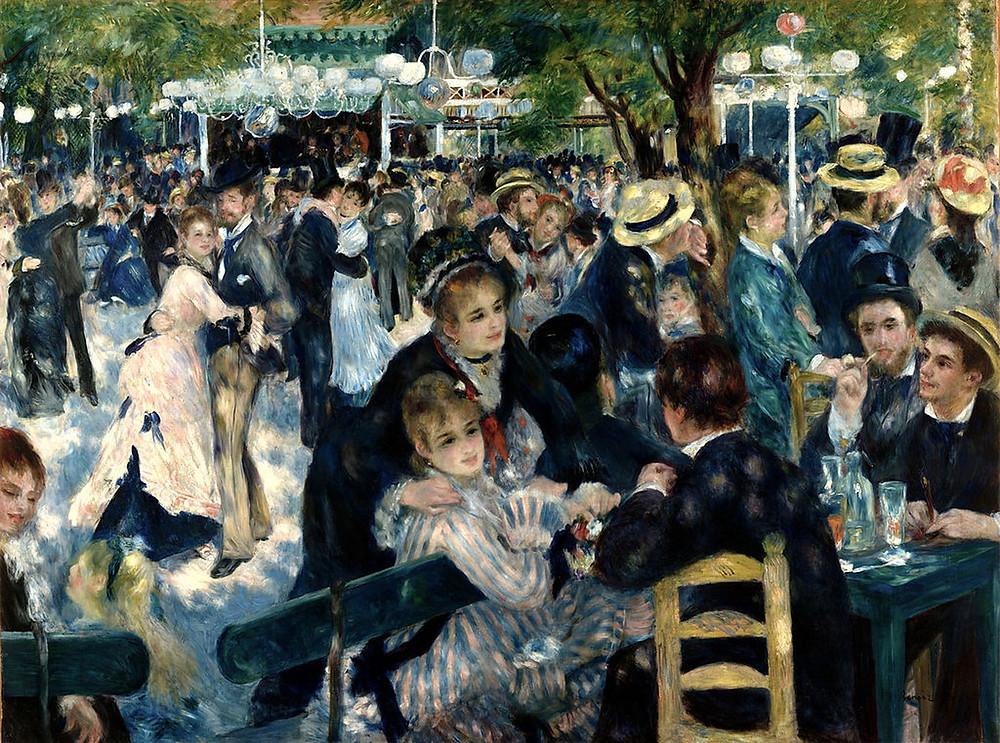 Renoir, Bal du Moulin de la Galette, 1874