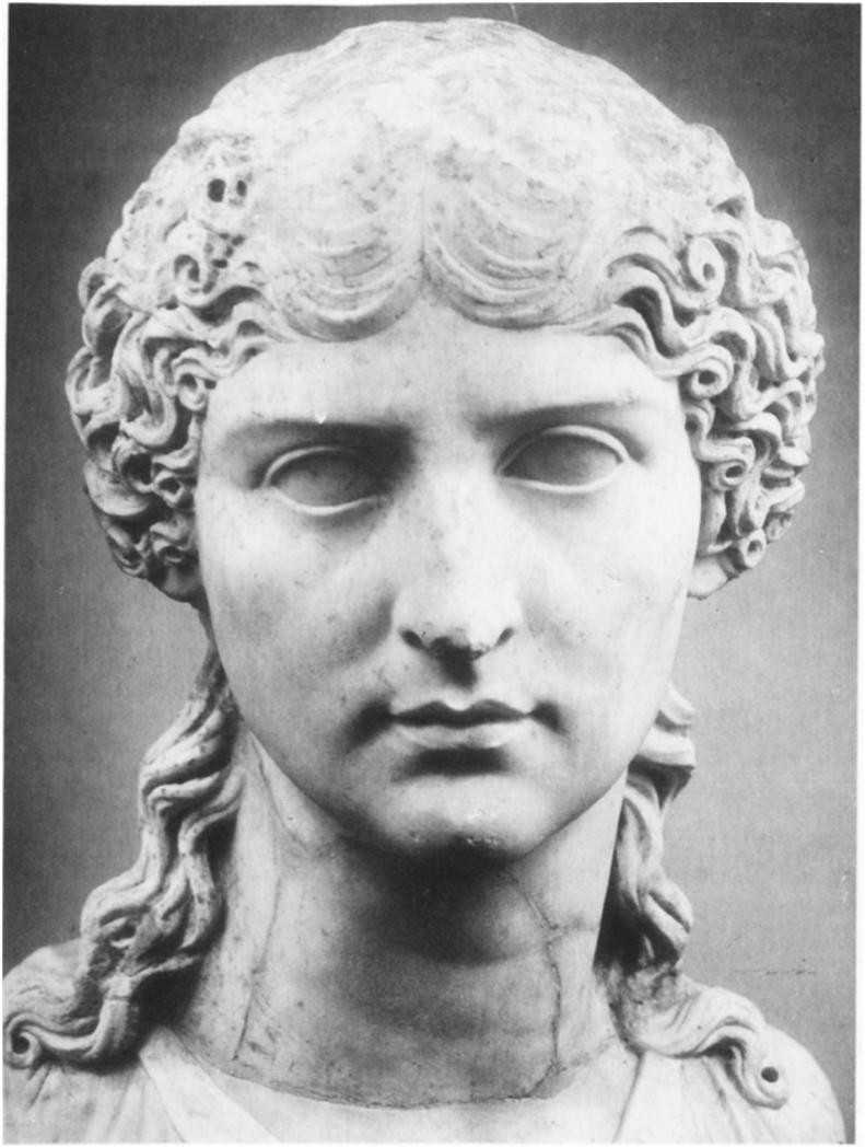 Nero's mother Agrippina, the wife of Claudius