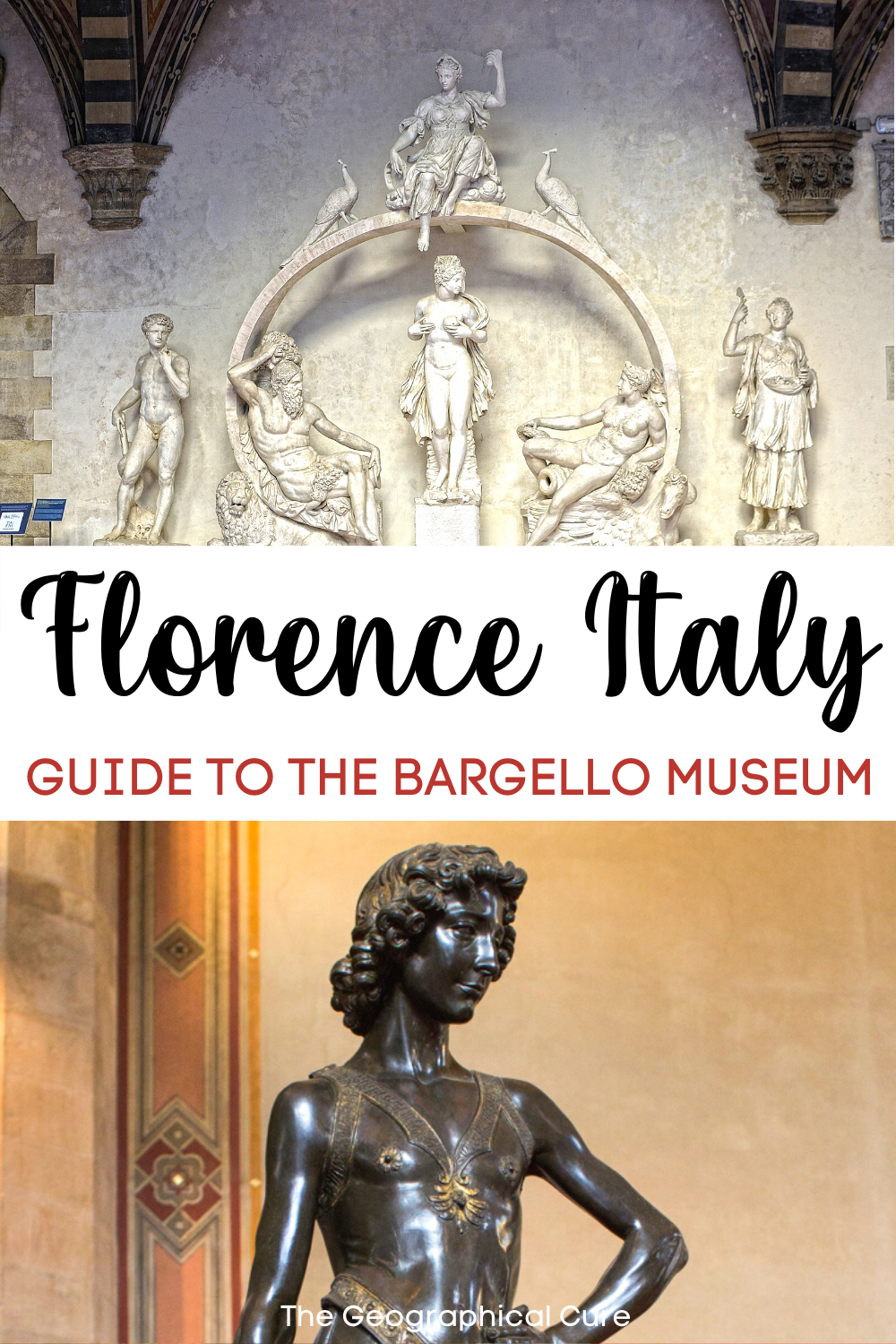 guide the Bargello Museum in Florence