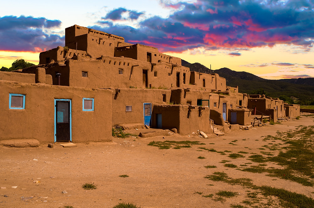 Ancient City of Taos, New Mexico