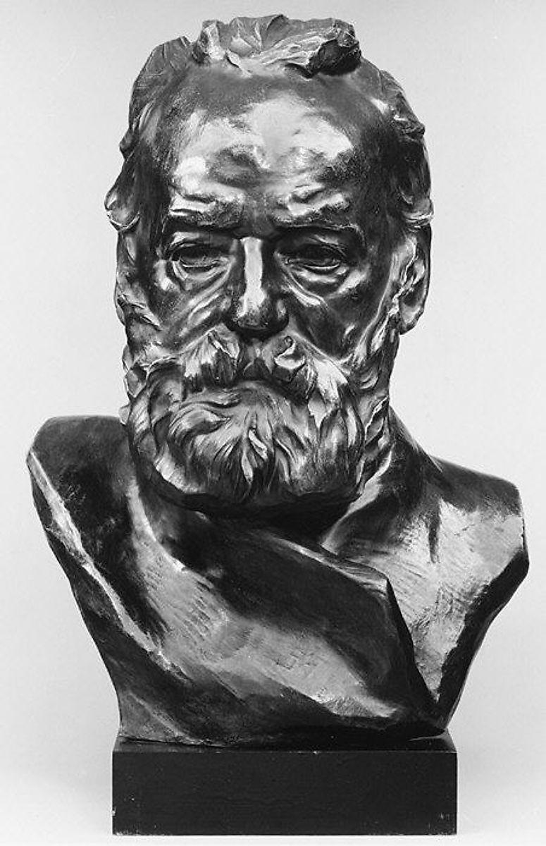 Auguste Rodin, Bust of Victor Hugo, 1883