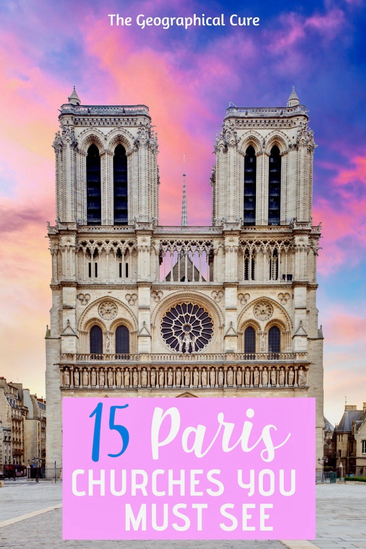 15 must see churches in Paris France