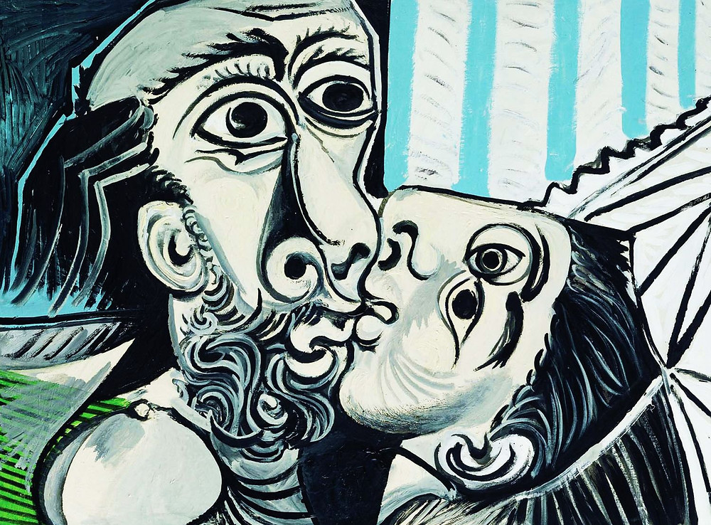The Kiss, 1969, by Picasso