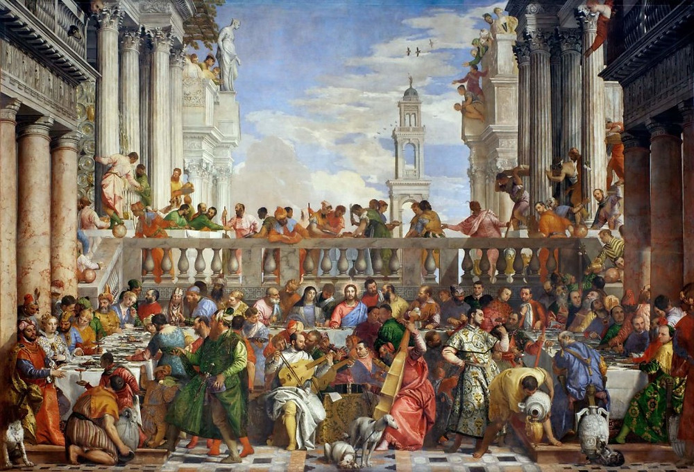 Paolo Veronese, The Wedding Feast at Cana, 1563