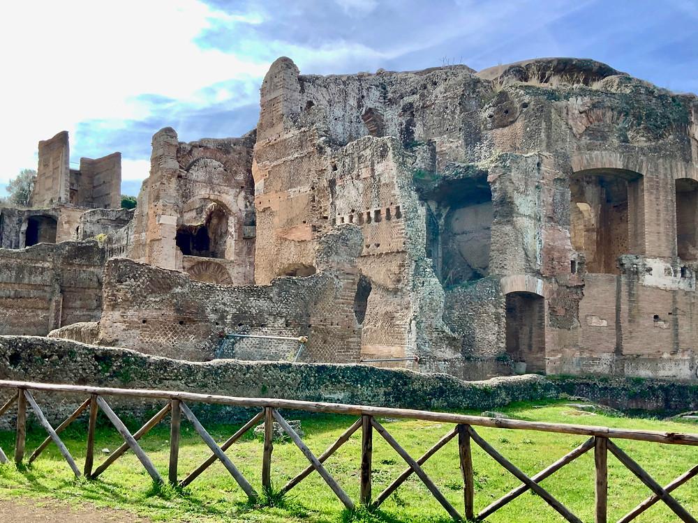the Grand Thermae at Hadrian's Villa