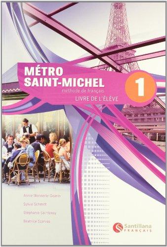 французский учебник Metro Saint-Michel