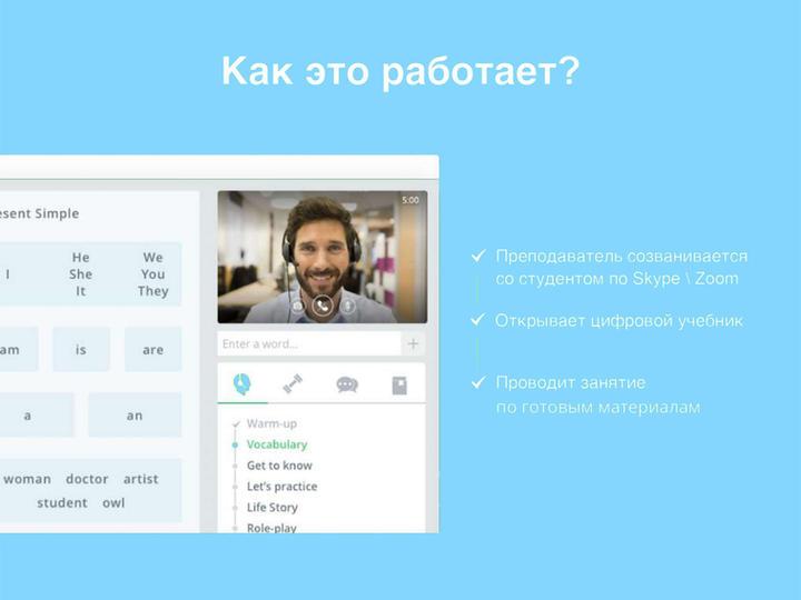 Online platform Spanish