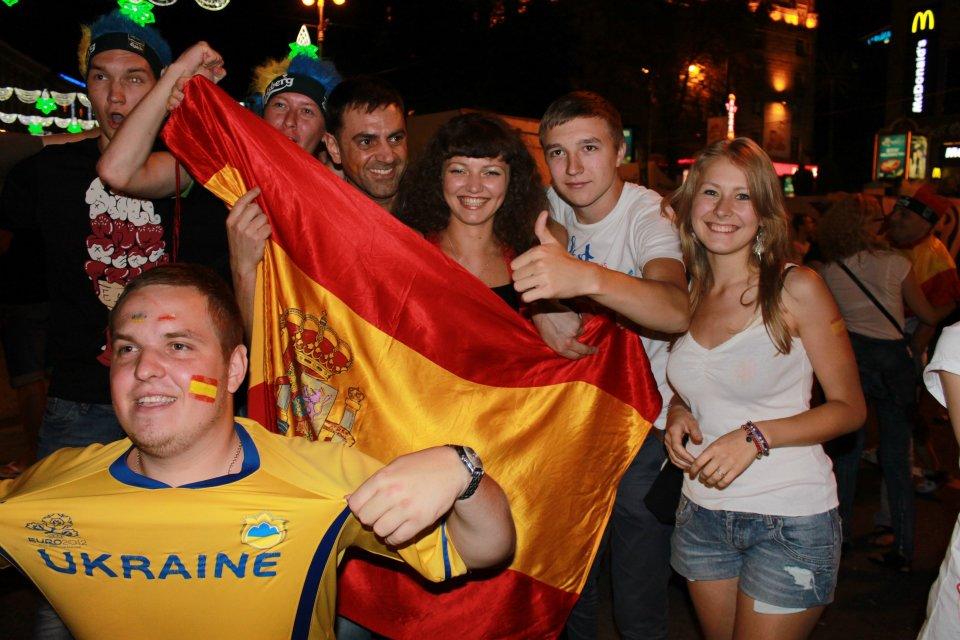 Вболіваємо з іспанцями!