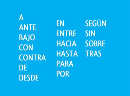 Listado de verbos con preposiciones. Список глаголов и выражений в испанском языке с предлогами