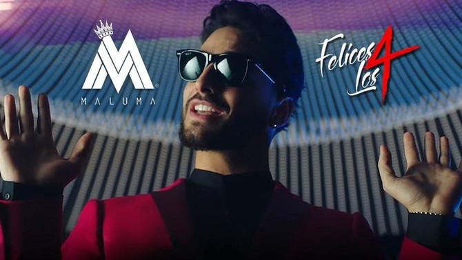 Перевод песни Maluma - Felices los 4. Разбор песни Felices los cuatro
