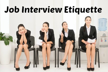 What is the right job interview etiquette? How to prepare for job interview in English.
